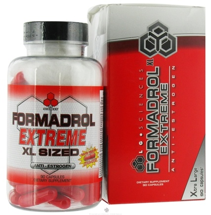 DROPPED: LG Sciences - Formadrol Extreme - 90 Capsules Legal Gear