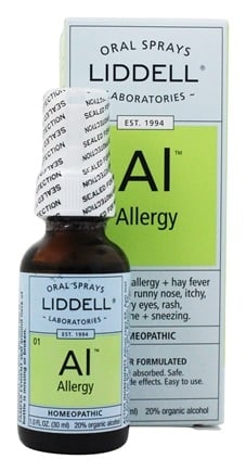 DROPPED: Liddell Laboratories - Allergy Homeopathic Oral Spray - 1 oz.