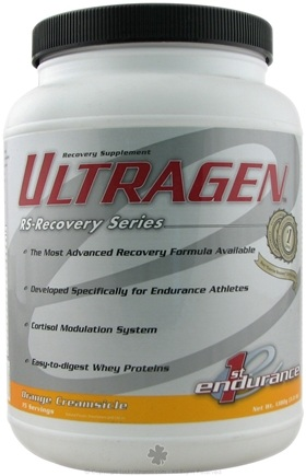 DROPPED: 1st Endurance - Ultragen Orange Creamsicle - 3 lbs. CLEARANCE PRICED