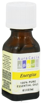 DROPPED: Aura Cacia - Essential Oil Blends Energize - 0.5 oz. CLEARANCE PRICED