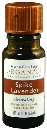 DROPPED: Aura Cacia - Essential Oil Lavender Spike - 0.33 oz.