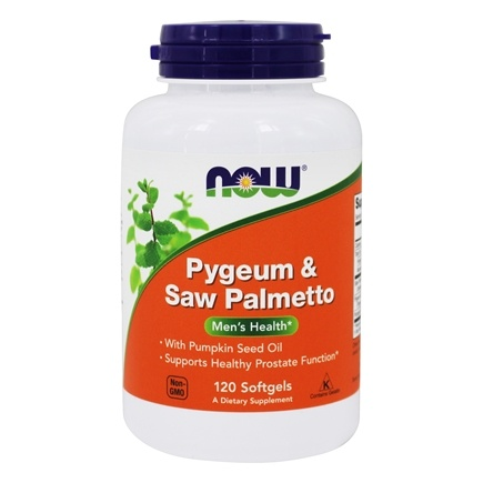 Zoom View - Pygeum & Saw Palmetto Extract 50/160 mg.