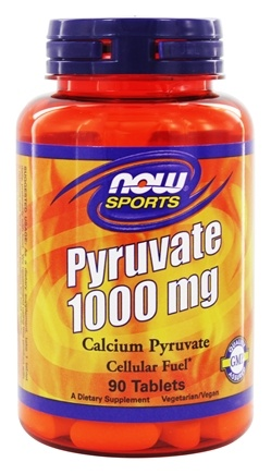NOW Foods - Pyruvate 1000 mg. - 90 Tablets