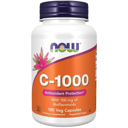 DROPPED: NOW Foods - Vitamin C1000 - 100 Capsules