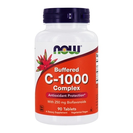 DROPPED: NOW Foods - Vitamin C1000 Complex - 90 Tablets