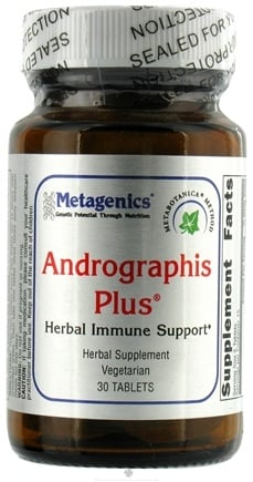 DROPPED: Metagenics - Andrographis Plus - 30 Tablets