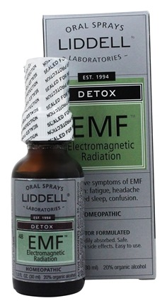 Zoom View - EMG Detox Electromagnetic Radiation Homeopathic Oral Spray