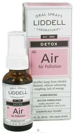 Zoom View - Air Pollution Homeopathic Oral Spray