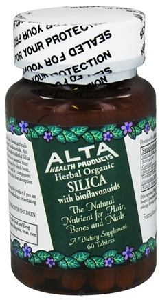 DROPPED: Alta Health - Silica With Bioflavonoids - 60 Tablets