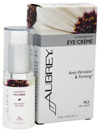 Aubrey Organics - Lumessence Eye Creme - 0.5 oz. (Formerly Lumessence Rejuvenating Eye Creme)