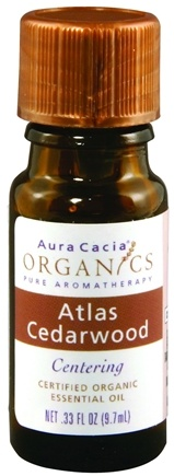 DROPPED: Aura Cacia - Essential Oil Atlas Cedar CLEARANCE PRICED - 0.33 oz.