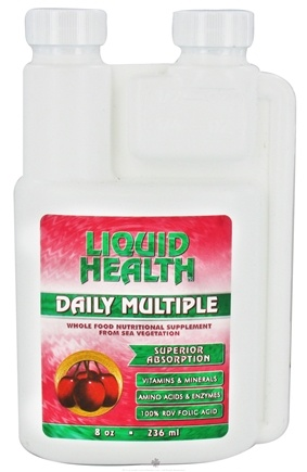 DROPPED: Liquid Health - Daily Multiple - 8 oz. CLEARANCE PRICED