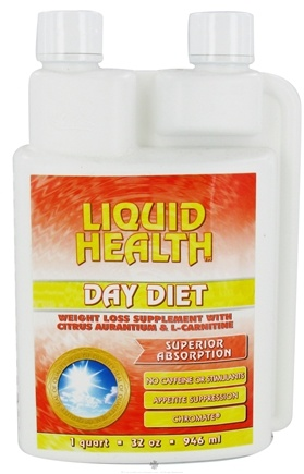 DROPPED: Liquid Health - Day Diet Weight Loss Supplement with Citrus Aurantium & L-Carnitine - 32 oz.