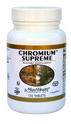 DROPPED: Maxi-Health Research Kosher Vitamins - Chromium Supreme - 120 Tablets