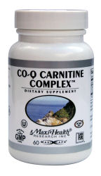 DROPPED: Maxi-Health Research Kosher Vitamins - CoQ Carnitine Complex with L-Carnitine - 60 Capsules