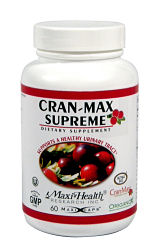 DROPPED: Maxi-Health Research Kosher Vitamins - Cranmax Supreme - 60 Capsules