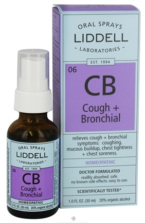 Zoom View - CB Cough + Bronchial Homeopathic Oral Spray