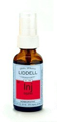 DROPPED: Liddell Laboratories - Inj Injuries Homeopathic Oral Spray - 1 oz.