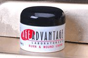 DROPPED: Age Advantage Laboratories - Burn and Wound Creme - 30 ml.