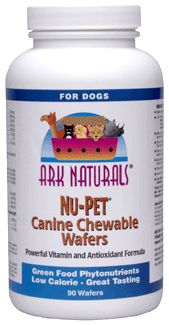 DROPPED: Ark Naturals - Nu Pet Canine Wafers - 30 Wafers