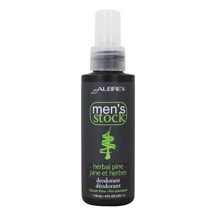 Zoom View - Men's Stock Natural Dry Herbal Pine Deodorant