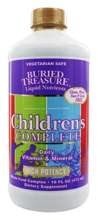 Buried Treasure Products - Children's Complete - 16 oz.