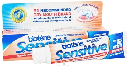 Zoom View - Sensitive Toothpaste with Gentle Dry Mouth Protection