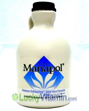 Zoom View - Manapol Immune Enhancing Formula with Beta Glucan