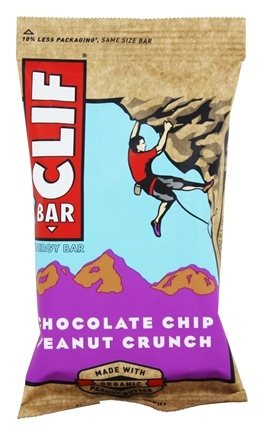 Clif Bar - Organic Energy Bar Chocolate Chip Peanut Crunch - 2.4 oz.