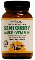 DROPPED: Country Life - Seniority Caps - 60 Vegetarian Capsules