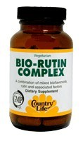DROPPED: Country Life - Bio-Rutin Complex - 60 Tablets