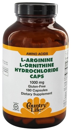 Zoom View - L-Arginine L-Ornithine Caps Amino Acid Complex with Vitamin B-6