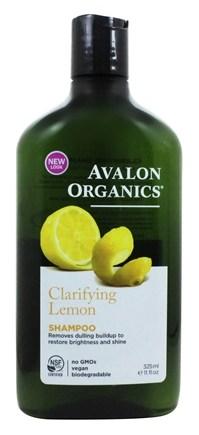 Avalon Organics - Shampoo Clarifying Lemon - 11 oz.