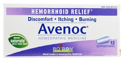 DROPPED: Boiron - Avenoc Suppositories - 12 Suppositories