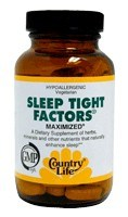 DROPPED: Country Life - Sleep Tight Factors Maximized - 90 Tablets
