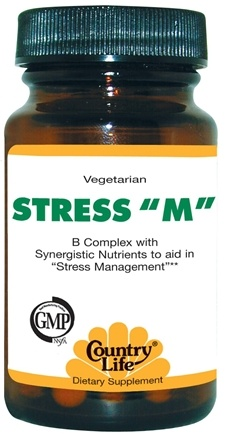 DROPPED: Country Life - Stress M - 30 Tablets