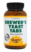 DROPPED: Country Life - Brewer's Yeast - 500 Tablets