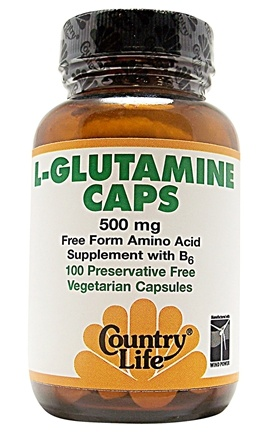 Zoom View - L-Glutamine Caps W/B-6