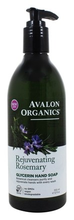 Avalon Organics - Glycerin Hand Soap Rosemary - 12 oz.