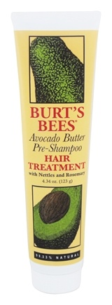 DROPPED: Burt's Bees - Pre-Shampoo Hair Treatment with Avocado Butter - 4.34 oz.