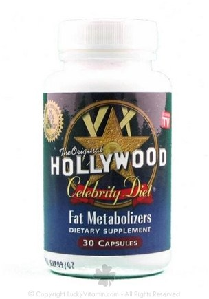 DROPPED: BNG Enterprises - Original Hollywood Celebrity Diet Fat Metabolizers - 30 Capsules