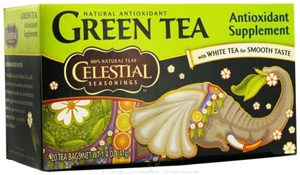 DROPPED: Celestial Seasonings - Antioxidant Green Tea - 20 Tea Bags CLEARANCE PRICED