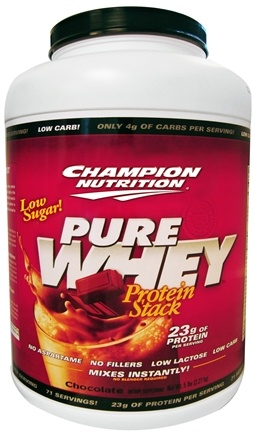 DROPPED: Champion Performance - Pure Whey Protein Stack Chocolate - 5 lbs.