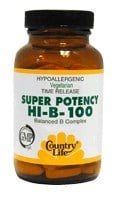 DROPPED: Country Life - Super Potency HI-B-100 - 50 Tablets