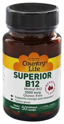 Zoom View - Superior B-12 Sublingual