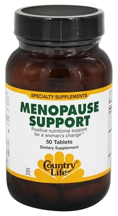DROPPED: Country Life - Menopause Support - 50 Tablets Formerly Biochem