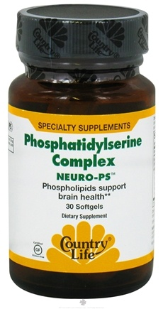 DROPPED: BioChem by Country Life - Neuro-PS Phosphatidylserine Complex - 30 Softgels