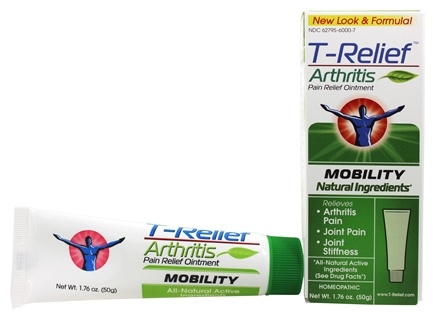 MediNatura - T-Relief Arthritis Mobility Pain Relief Ointment - 1.76 oz. Formerly BHI/Heel Zeel Ointment