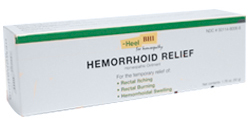 DROPPED: BHI/Heel - Hemorrhoid Homeopathic Suppositories - 10 Suppository(s)