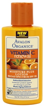 Zoom View - Vitamin C Renewal Moisture Plus Lotion Broad Spectrum